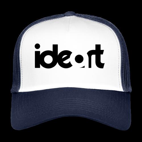 ideart logo sort - Trucker Cap