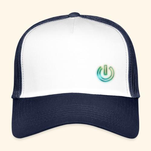 JJAMovies Logo Power - Trucker Cap