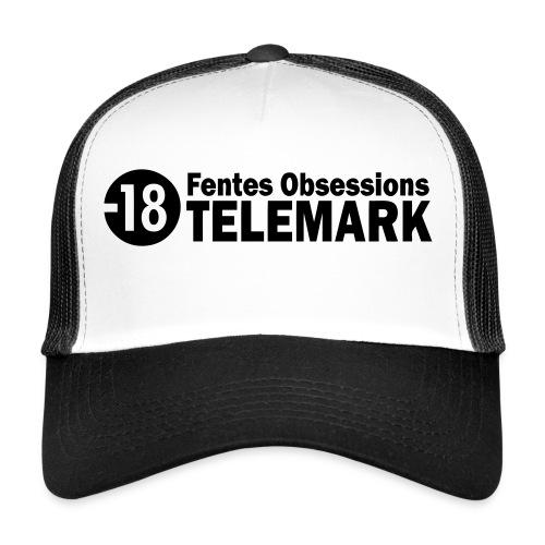 telemark fentes obsessions18 - Trucker Cap
