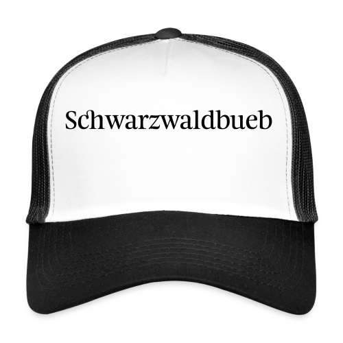 Schwarwaödbueb - T-Shirt - Trucker Cap