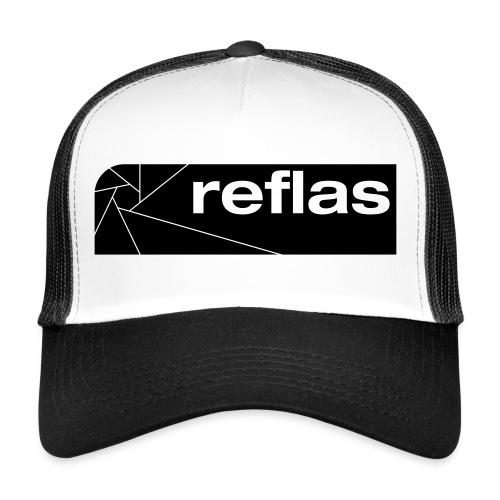 Reflas Clothing Black/Gray - Trucker Cap