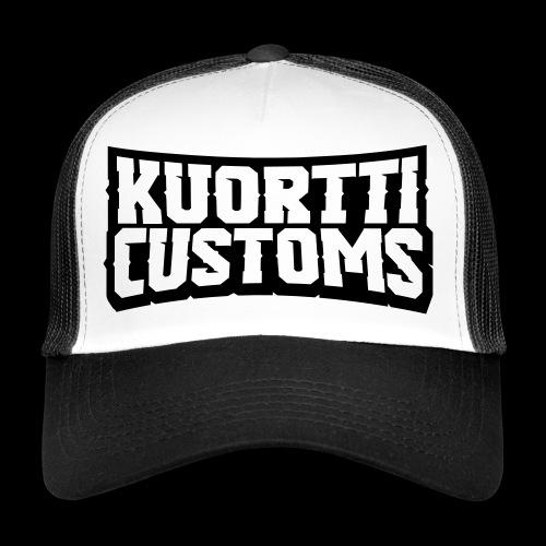 kuortti_customs_logo_main - Trucker Cap