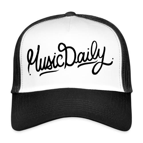 MusicDaily Logo - Trucker Cap