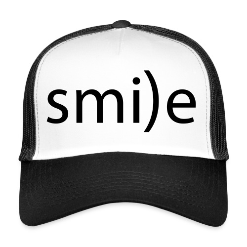 smile Emoticon lächeln lachen Optimist positiv yes - Trucker Cap