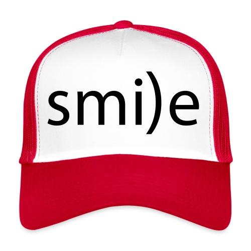 smile Emoticon lächeln lachen Optimist positiv yes - Trucker Cap