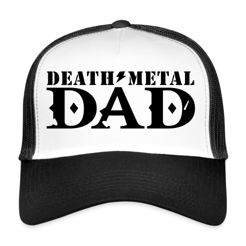 death metal dad - Trucker Cap