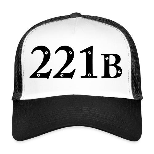 Sherlock Holmes - 221B - Trucker Cap