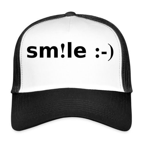 smile - sorridi - Trucker Cap