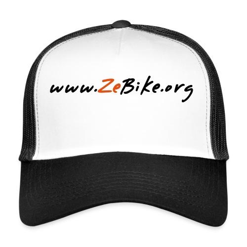 wwwzebikeorg s - Trucker Cap