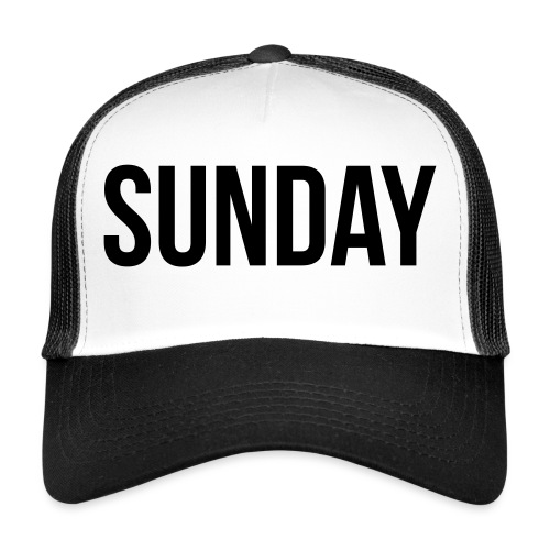 Sunday - Trucker Cap