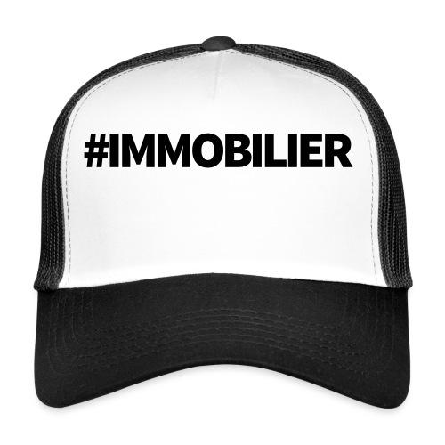IMMOBILIER - Trucker Cap