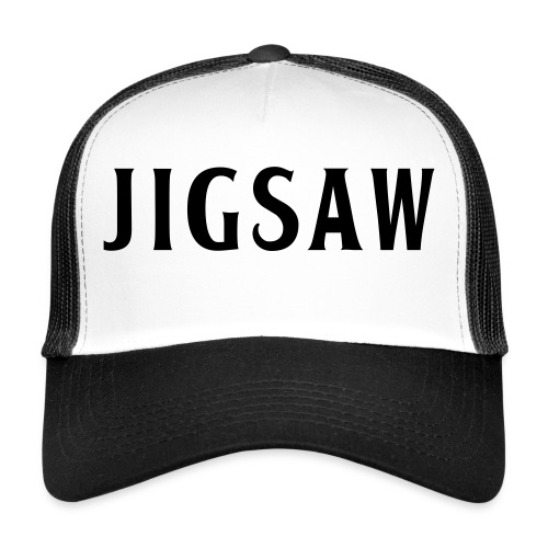 JigSaw Black - Trucker Cap