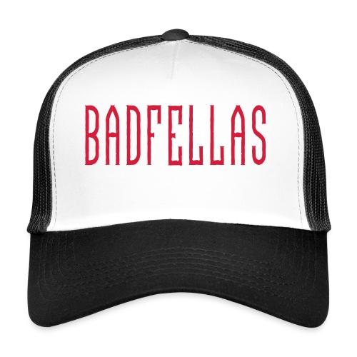 Badfellas logo 2018 - Trucker Cap