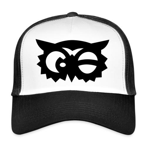 Aufkleberweiss Black - Trucker Cap