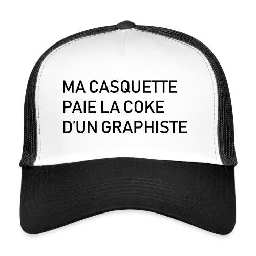 Ma casquette paie la C d'un graphiste - Trucker Cap