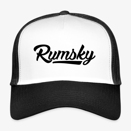 Rumsky-logo - Trucker Cap