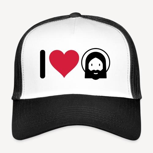 I LOVE JESUS - Trucker Cap