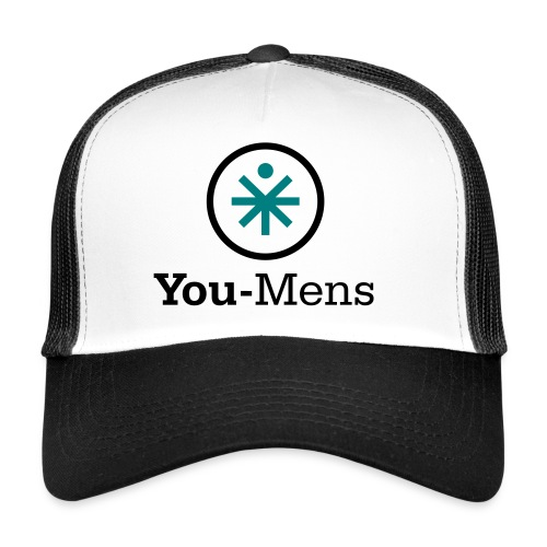You-Mens logo 2 kleuren F - Trucker Cap