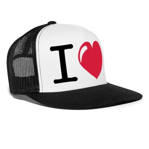 i love heart - Trucker Cap