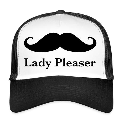 Lady Pleaser T-Shirt in Green - Trucker Cap