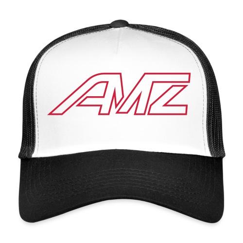 Logo AMZ rot schrift - Trucker Cap