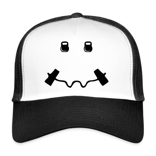 Happy dumb-bell - Trucker Cap