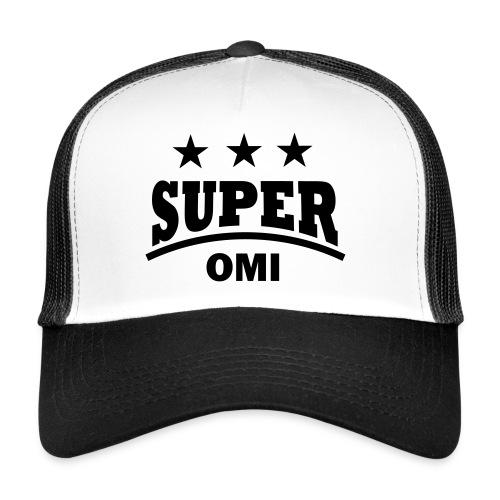 cool super omi raster - Trucker Cap