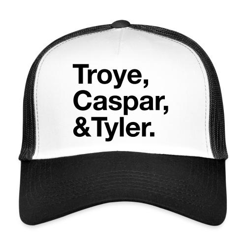 TROYE CASPAR AND TYLER - YOUTUBERS - Trucker Cap