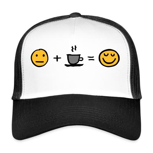 Coffee makes me happy - Trucker Cap