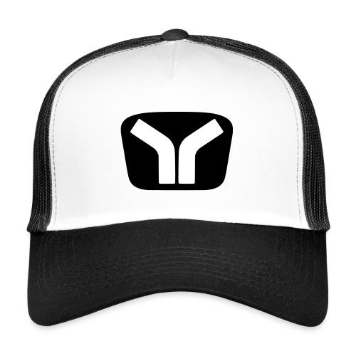 Yugo Logo Black-White Design - Trucker Cap