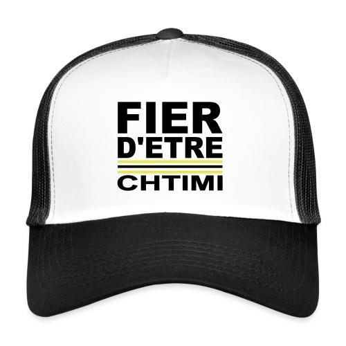 Fier D ETRE Chtimi Noir - Trucker Cap