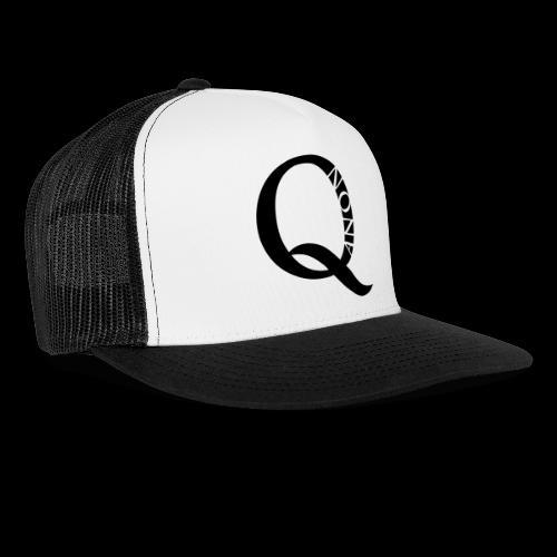 Q Anon Q-Anon Original Logo - Trucker Cap
