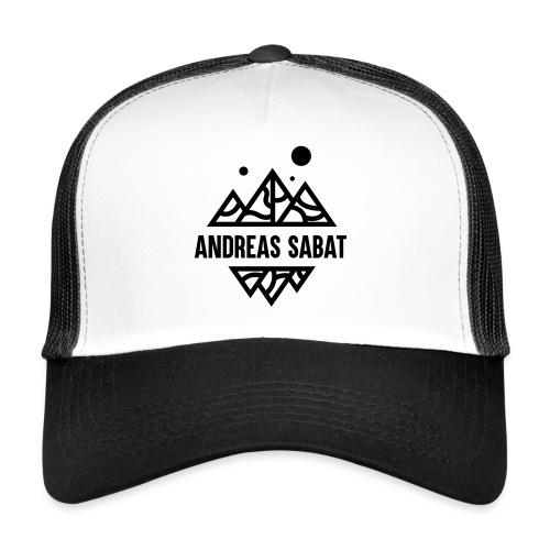 sabat logo black - Trucker Cap