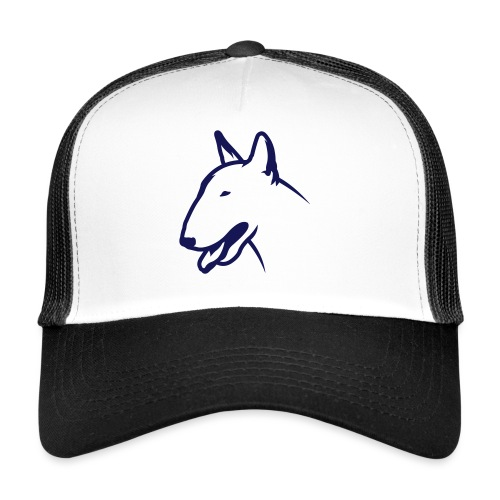 Bullterrier BULLY HEAD 1c_4light - Trucker Cap