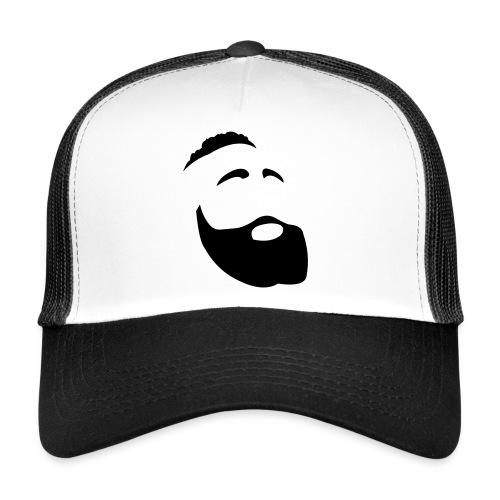 Il Barba, the Beard black - Trucker Cap