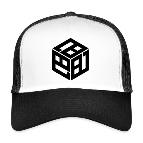 Mitsudomoe Symbol (stylisiert) - Trucker Cap