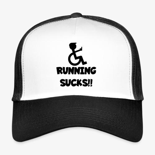 Rolstoel gebruikers haten rennen - Trucker Cap