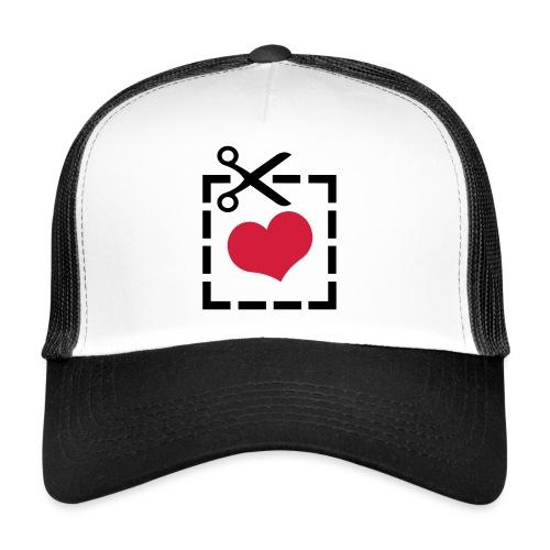 Cut Out Heart - Trucker Cap