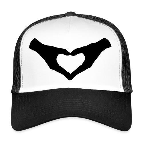 Herz Hände / Hand Heart 2 - Trucker Cap