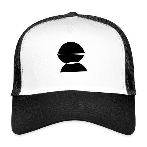 refugee rights abstract - Trucker Cap