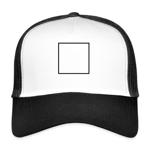 Square t shirt black - Trucker Cap