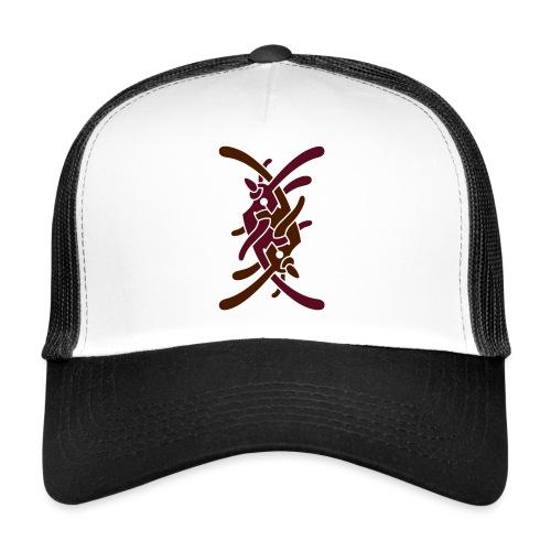 Stort logo på ryg - Trucker Cap