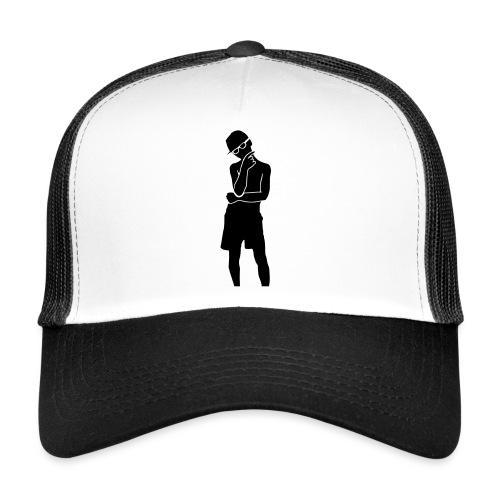 Silhouette cap - Trucker Cap