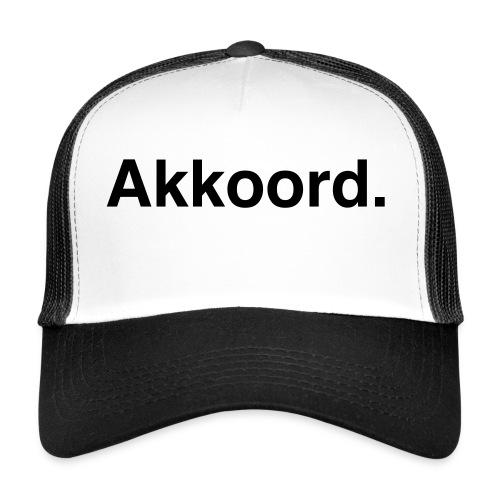 Akkoord - Trucker Cap