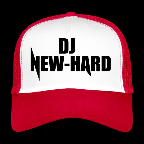 DJ NEW-HARD LOGO - Trucker Cap