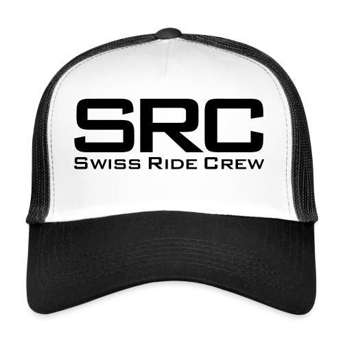 SRC Snapback Schwarz - Trucker Cap