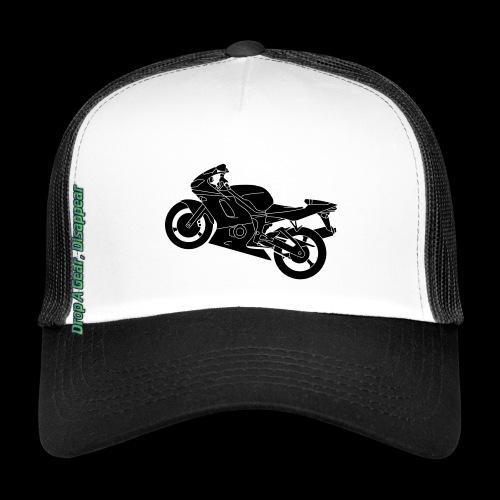 Mouse Mat - Drop A Gear, Disappear - Trucker Cap