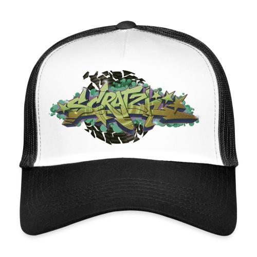 Scratch Graffiti Style - Trucker Cap