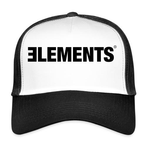Schriftzug Elements - Trucker Cap