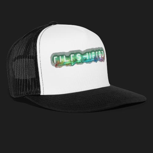 TiltShifted Logo on Black - Trucker Cap